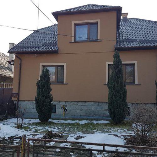 Rodinný dom Lieskovec rekonštrukcia