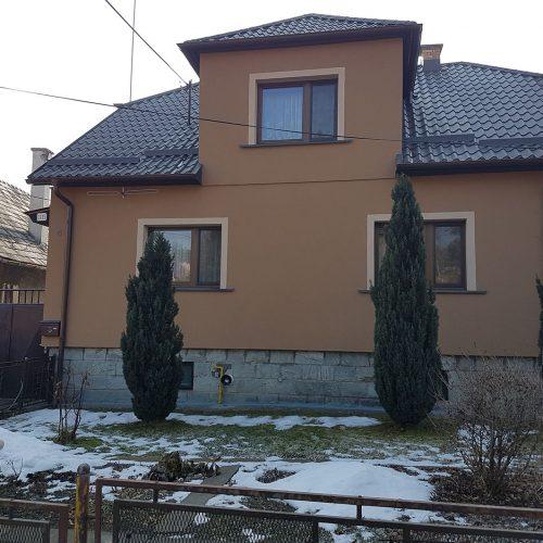 Rekonštrukcia rodinného domu Lieskovec
