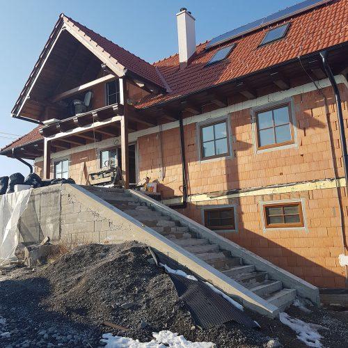 Rodinný dom Babiná úprava okolia