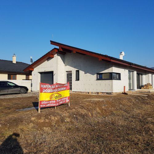 Rodinný dom Budča výstavba