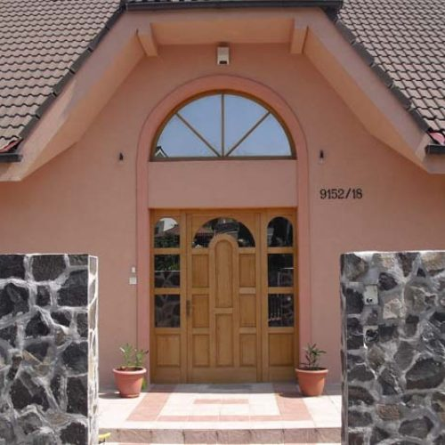 Rodinný dom Zlatý potok  stavba domu na klúč